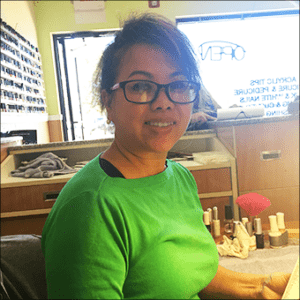 Lynda Le, owner of Polish Perfect