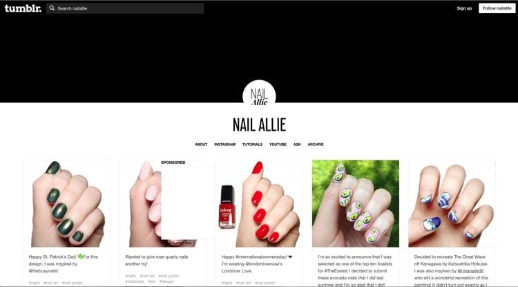 umblr Nail Designs: Nail Allie