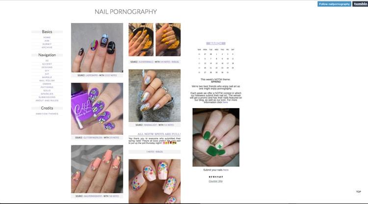 Tumblr Nail Designs: Nail Pornography