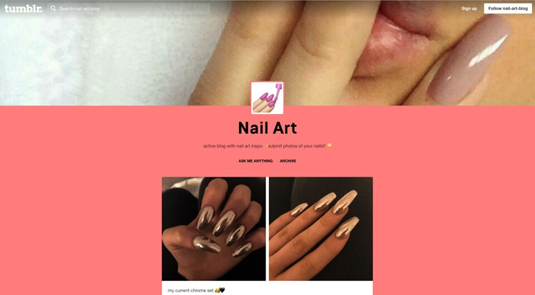 10 Must-Follow Tumblr Influencers for Nail Art