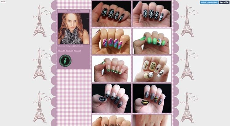 Tumblr Nail Designs: Blondie's Nails