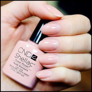CND Shellac - Nude Knickers polish