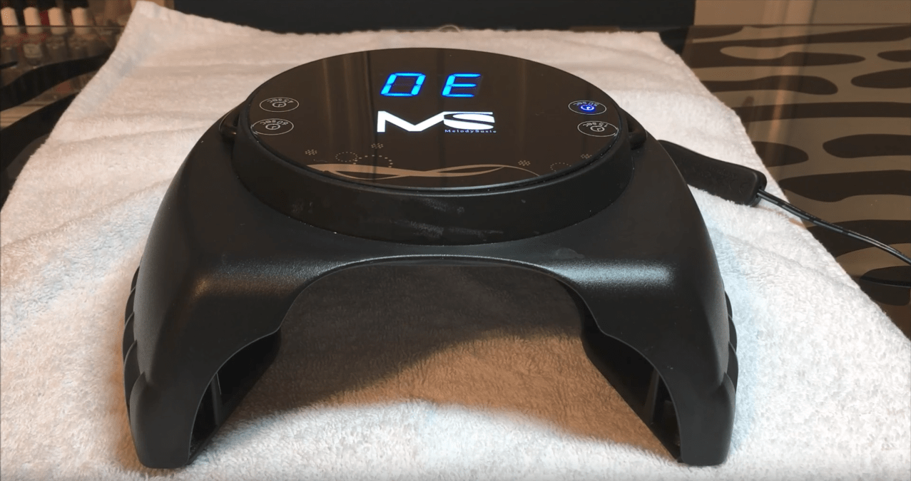 LED Lamp Controls: One Of The First Things You May Notice When Using The  MelodySusie 60 Watt LED Nail Lamp Is That The Controls Are Facing The  Opposite ...
