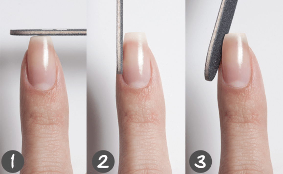 How To Shape Nails Using Soft Nail File