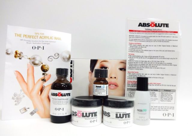 Acrylic liquid: OPI's Absolute Intro Kit